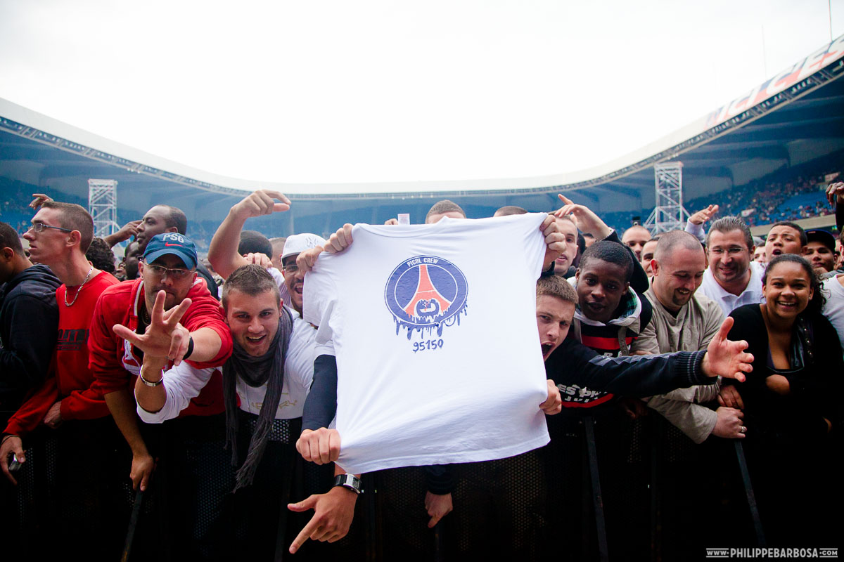 Photos NTM Parc des Princes 2010
